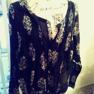 Lucky Brand blouse size 3x